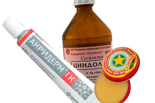 Какие препараты помогают от укусов клопа