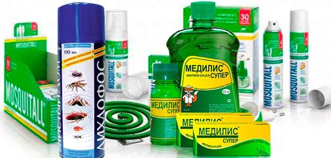 препараты от комаров